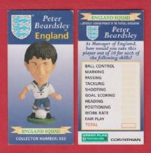 England Peter Beardsley Newcastle United E03